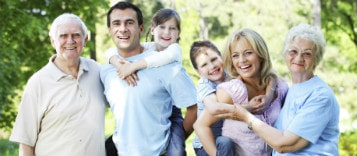 Happy Australian family visa